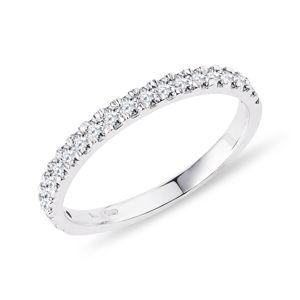 Snubní diamantový prsten KLENOTA